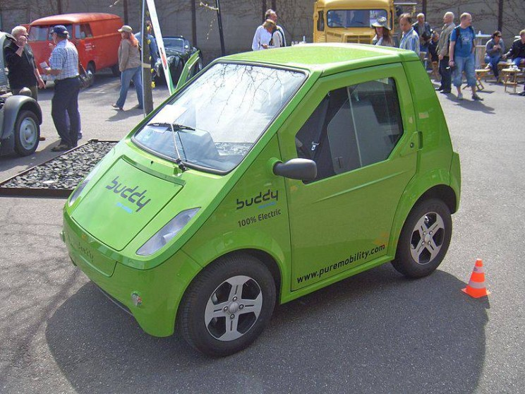 World's smallest cars Buddy