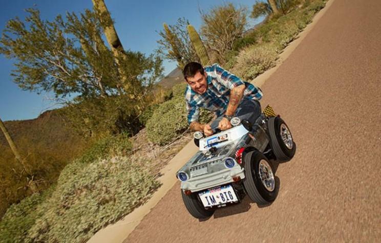 World's smallest cars DIY car