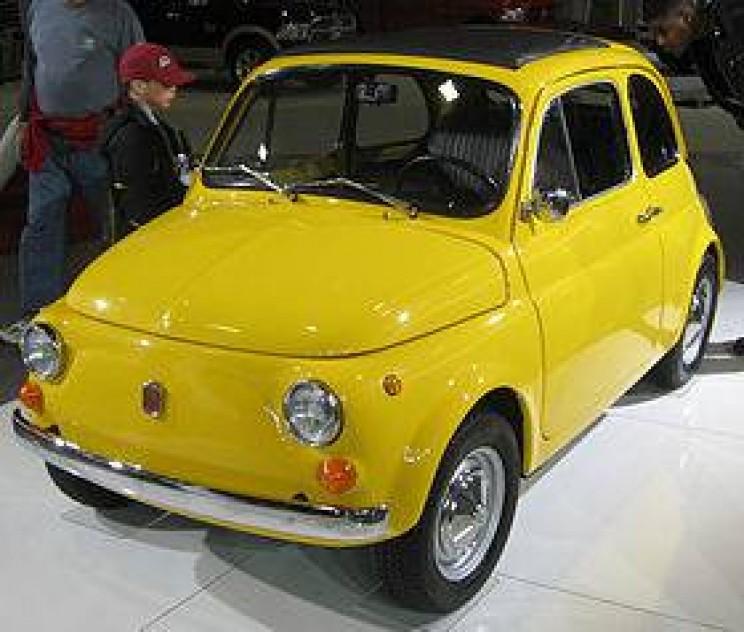 World's smallest cars Fiat 500