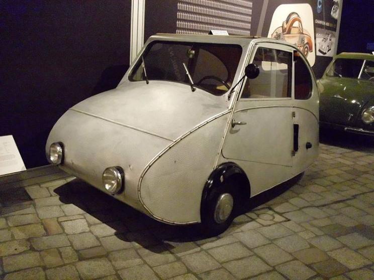 World's smallest cars Fuldamobil