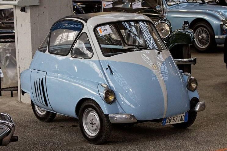 World's smallest cars Isetta