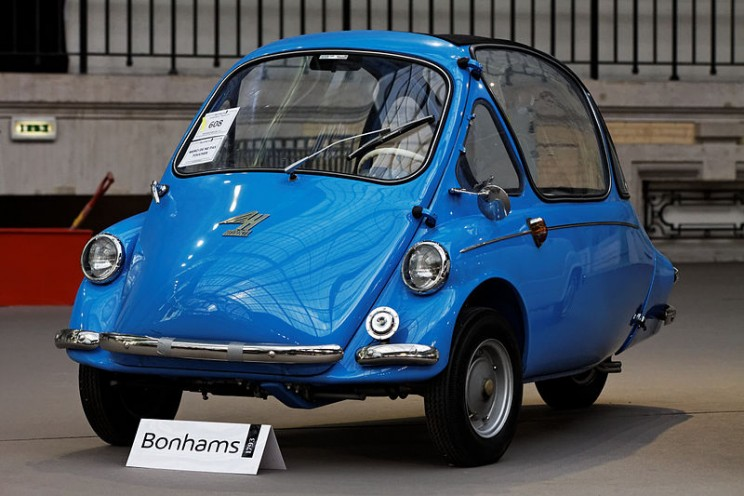 World's smallest cars Kabine