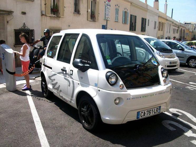 World's smallest cars Mia Electric