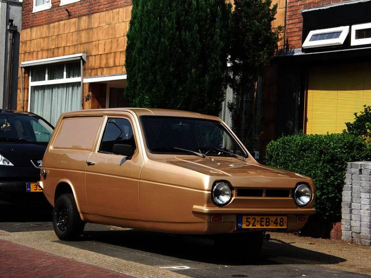 World's smallest cars Reliant Robin