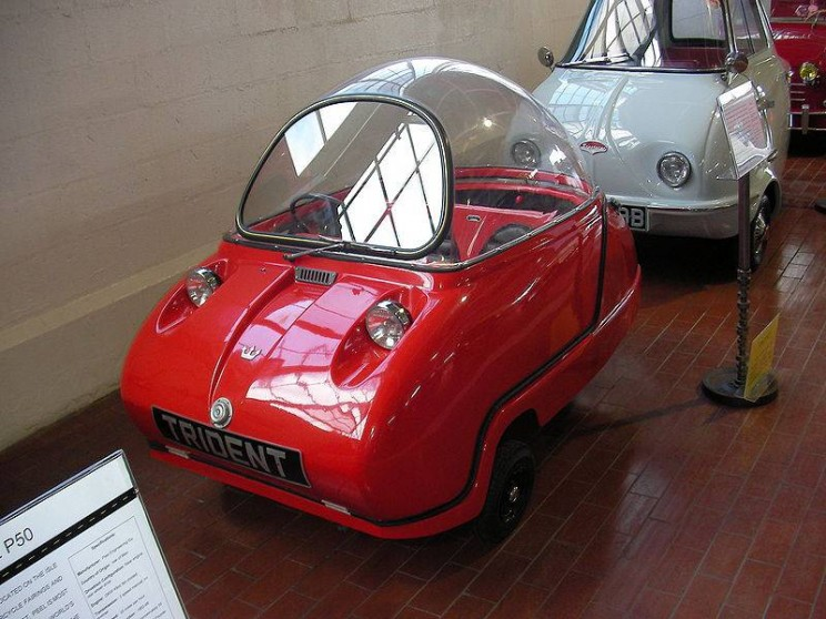 World's smallest cars Trident