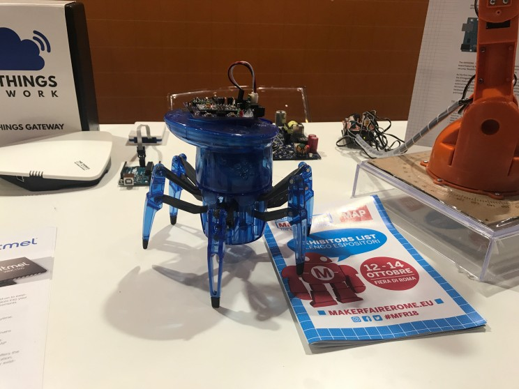arduino maker faire rome 2018
