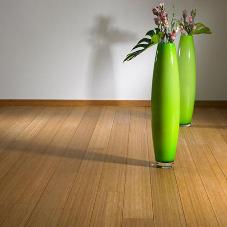 Bamboo floors are hardwearing and affordable