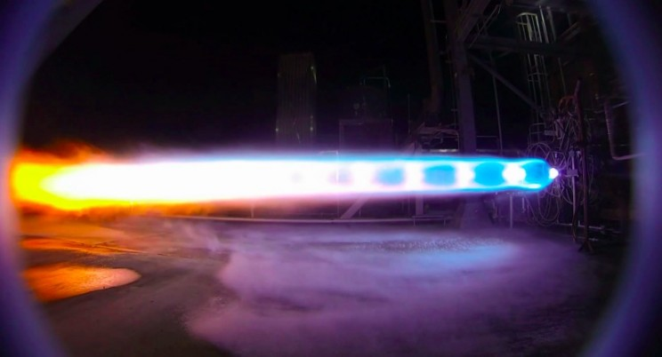 Blue Origin's Most Powerful Rocket Engine Successfully Completes First Hot-Fire Test
