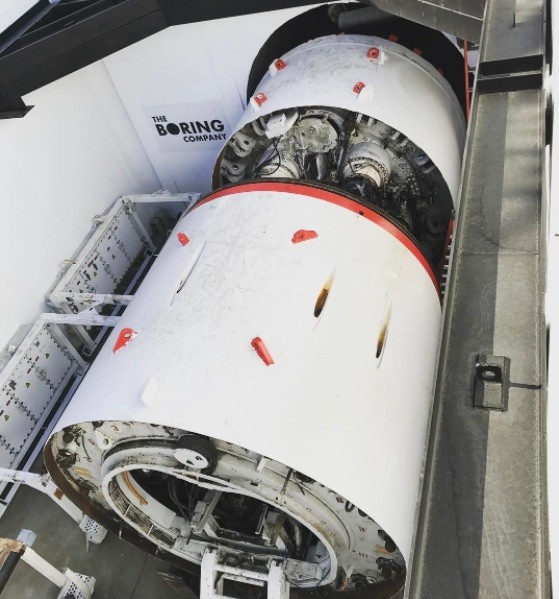 Elon Musk's Boring Company Just Added a Second Drilling Machine to Its Fleet