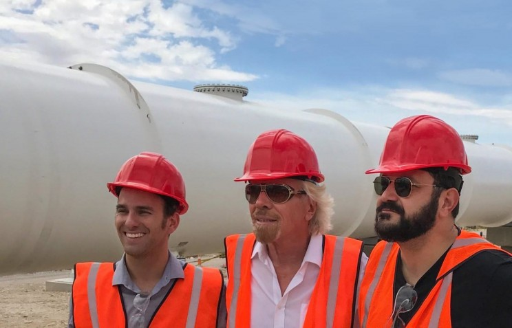 Hyperloop One Gets a New Name After Major Investment from Richard Branson