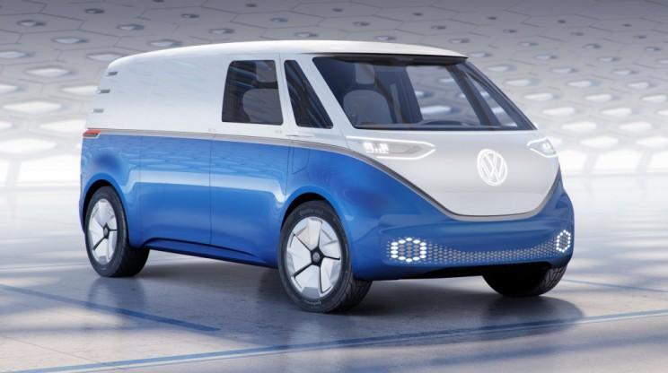 buzz cargo volkswagen electric vehicle EV