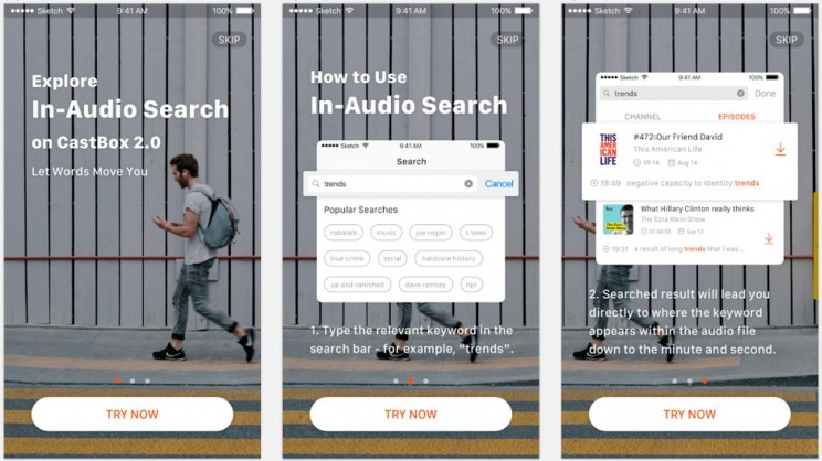 New Podcast App Lets Users Search for Information Inside the Audio
