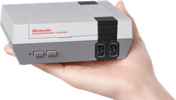 The recently re-released NES