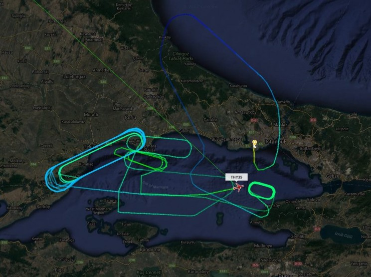Lack of Fuel Dumping System Forced This Plane to Circle Over Istanbul for 7 Hours