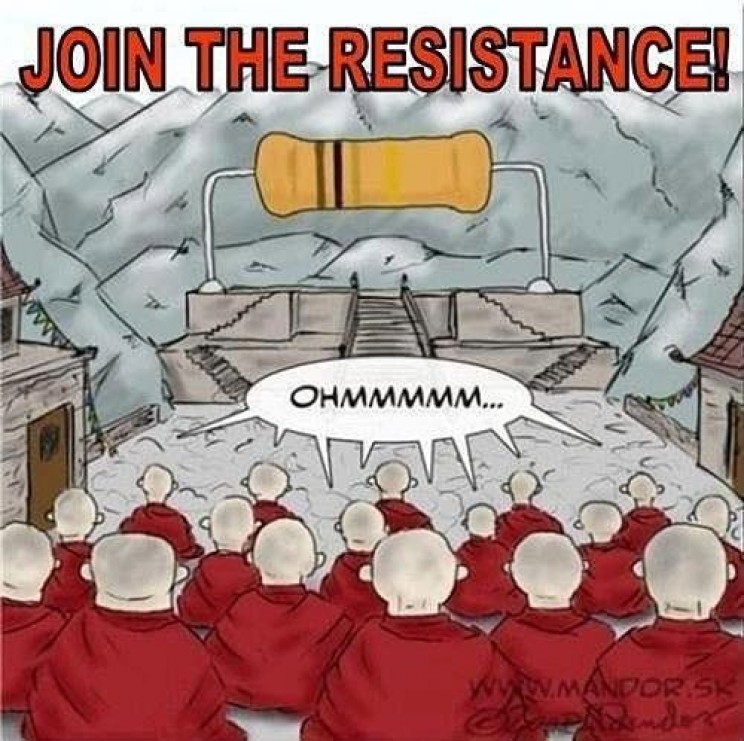 funny memes about science ohm