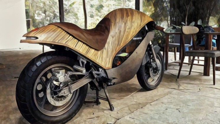 Bamboo makes an interesting alternative to motorbikes