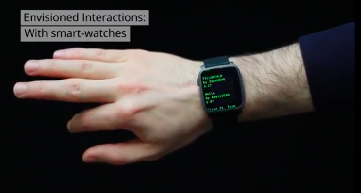 Smartwatches of the Future Could Use Ultrasound Technology to Sense Hand Gestures