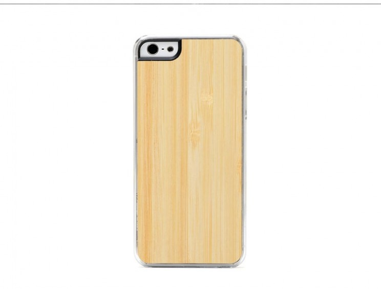 Bamboo makes a striking cover for tech gadgets