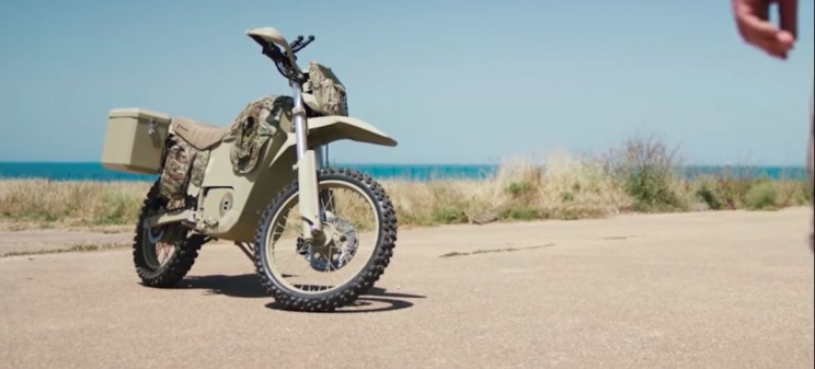 Kalashnikov Unveils Its Electric Motorbike For Russian Military and Police Force