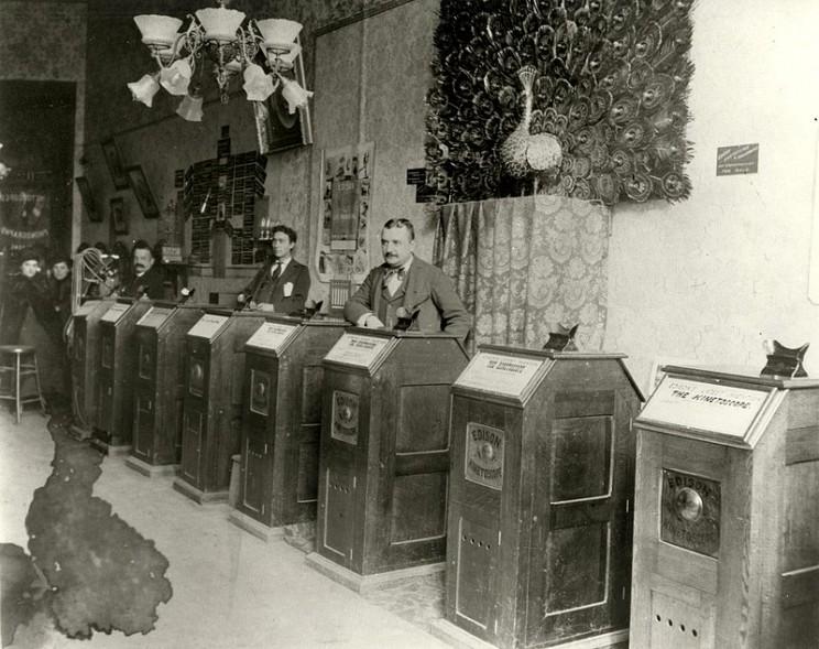 lumiere brothers Edison Kinetoscope