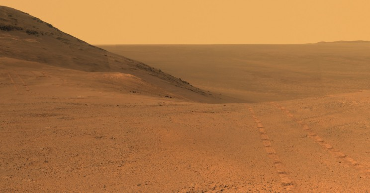 Salty Water Unlocks Key to Life on Mars