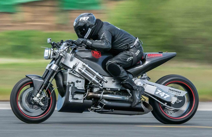 Man Seeks New Motorcycle Land-Speed Record A Year After His Near-Fatal Crash