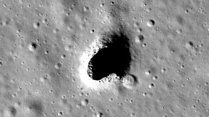 A Crater Beneath the Moon's Surface Could House a Lunar Colony in the near Future