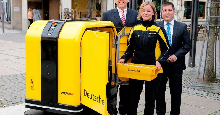 Autonomous Vehicles for Postal Deliveries Take Over Europe's Streets