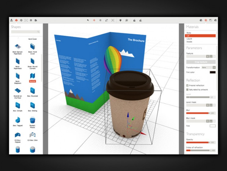 This Tool Lets You Easily Create 3D Product Mockups
