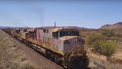The World's First Fully-Autonomous Freight Train Just Completed a 100km Pilot Run