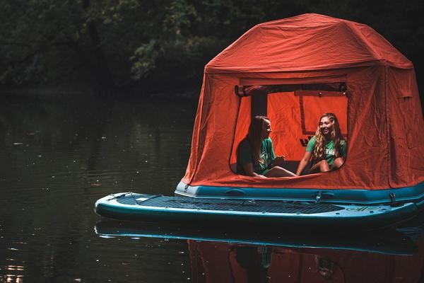 This Awesome Floating Tent Allows You to Camp on Water