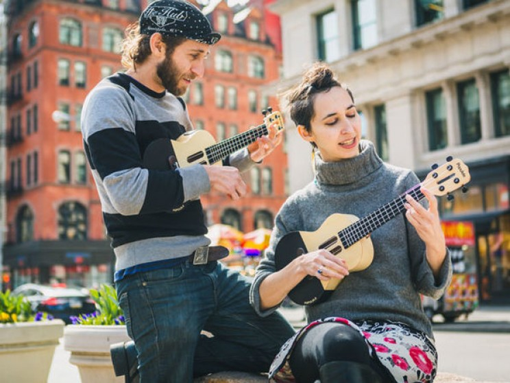 The worlds first smart ukelele