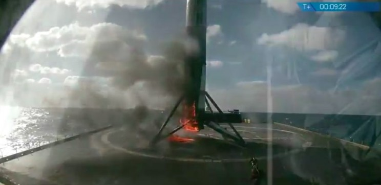 SpaceX's Latest Falcon 9 Rocket Launch Ends with a 'Toasty' Landing