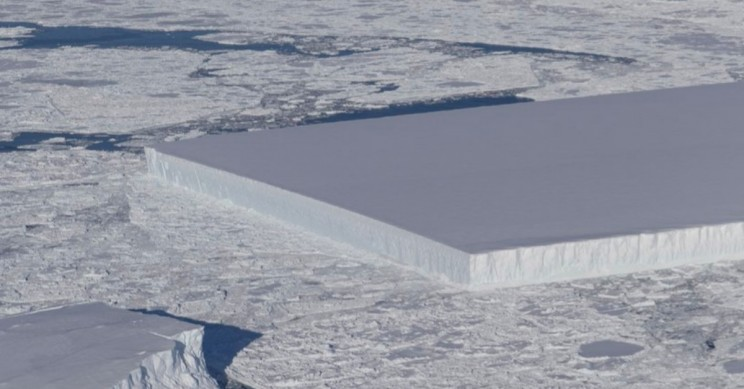 Square Iceberg Spotted by NASA Perplexes Millions