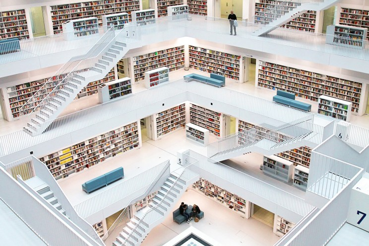 The City Libary, Stuttgart, Germany