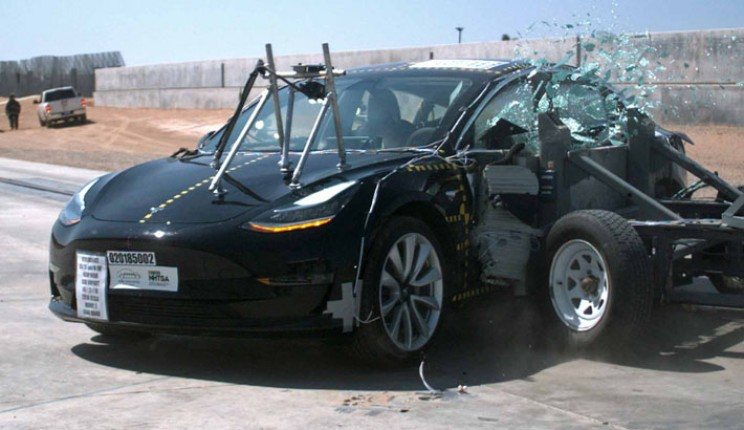 The Tesla Model 3 has ben extensively tested by the NHTSA