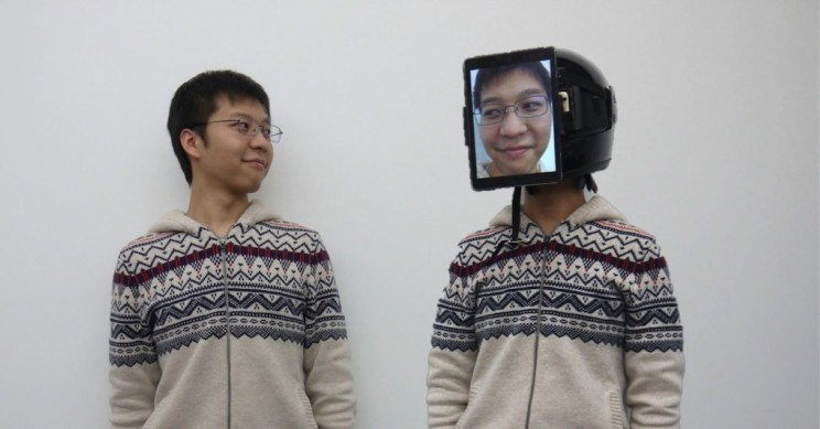 This Mask Lets You Send a Surrogate Version of Yourself to Meetings You Can't Attend