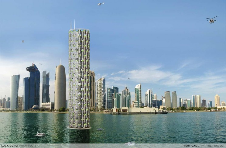 Vertical Cities Could Be a Glimpse into the Future of City Living