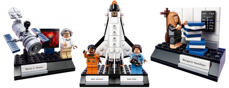 Lego Prove They're Awesome Once Again and Release Women of Nasa Set