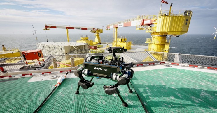 Autonomous Robot ANYmal Completes World's First Offshore Mission
