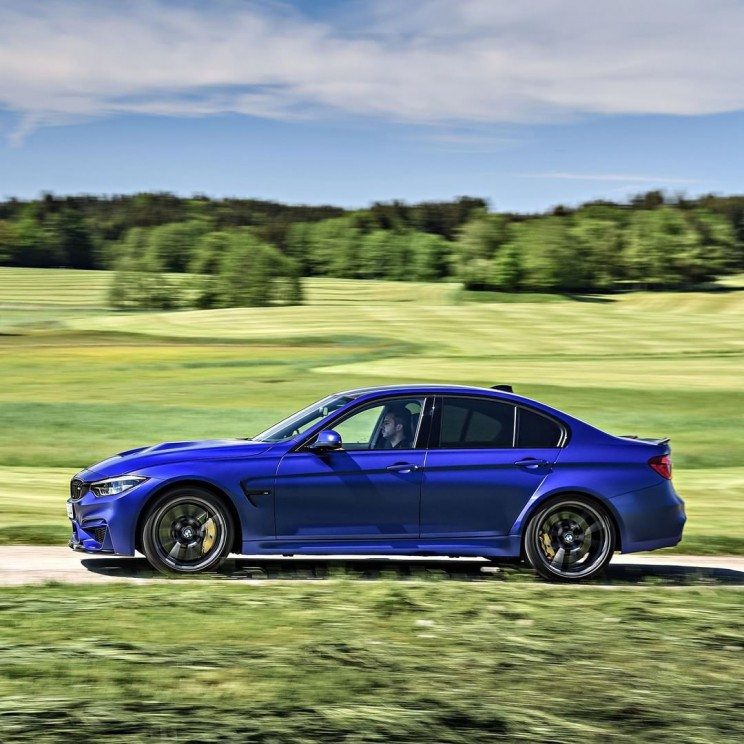 BMW is proud of the first ever M3 CS