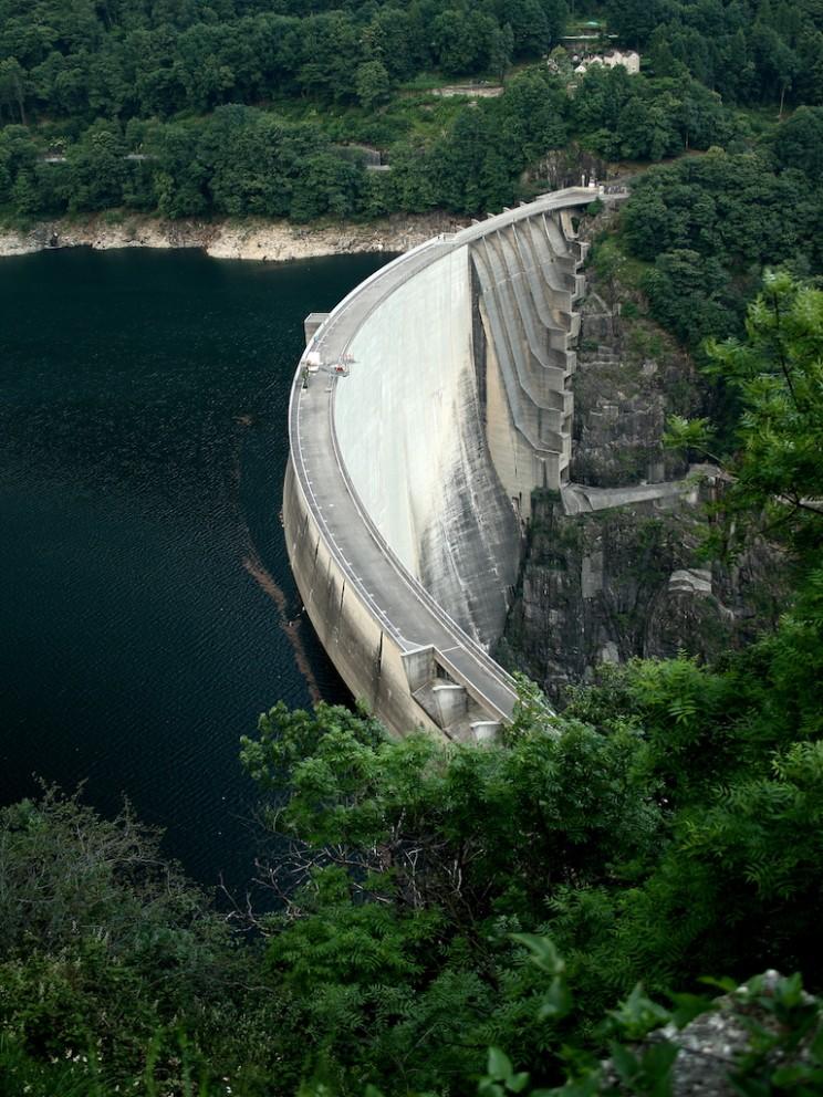 Switzerland's Contra Dam