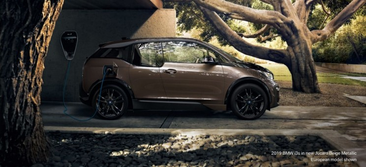 You'll move silently and efficiently through the city in BMW's 2019 all electric i3
