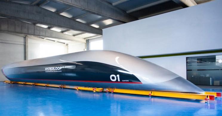 The World's First Full-Scale HyperloopTT Passenger Capsule is Finally Here