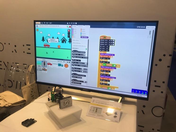 Sony Sprensense Maker Faire Rome 2018
