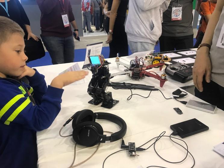 Sony Spresense Maker Faire Rome 2018