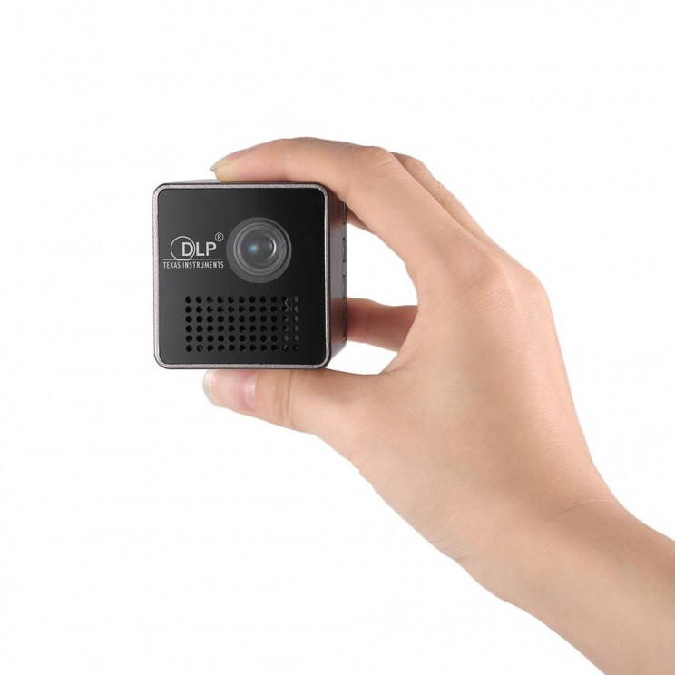 Mini-projectors lets you take the movies with you