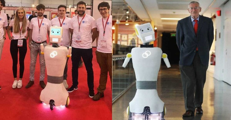 Stevie the Robot Wants to Help the Elderly