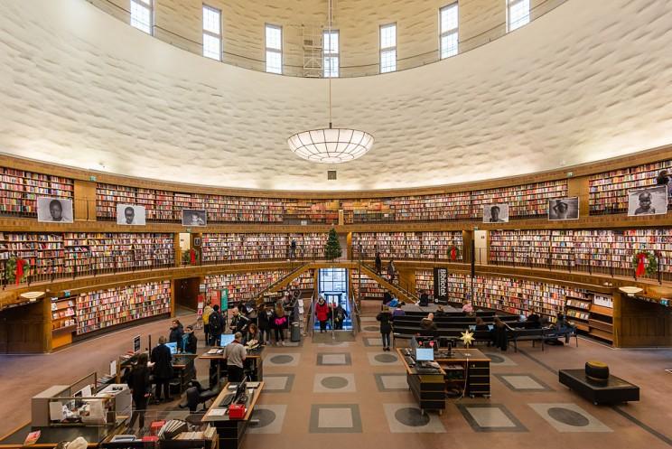 Stockholm Public Library, Stockholm, Sweden