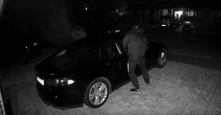 Tesla Owner Releases Footage of his  Model S Being Stolen